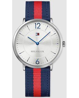 1791328 Two-tone Fabric Watch