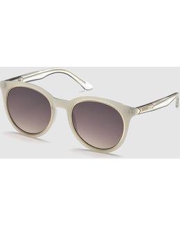 Rounded Retro Sunglasses