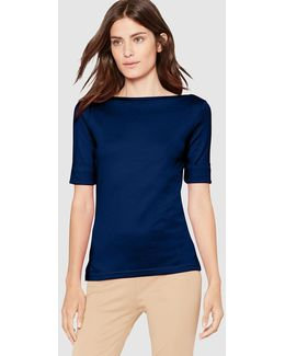 Short Sleeved Navy Blue T-shirt