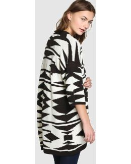 Long Kimono-style Cardigan