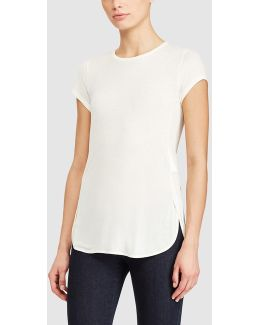 Long White T-shirt
