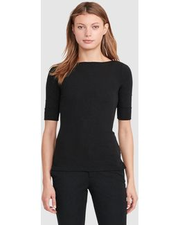 Short Sleeved Black T-shirt