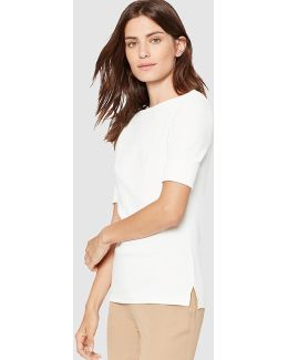 Short Sleeved White T-shirt
