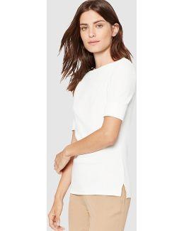 Short Sleeved White T-shirt