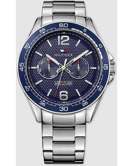 Steel Multi-function Watch