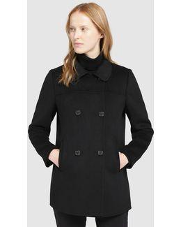 Short Black Coat