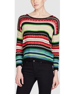 Serape-inspired Sweater