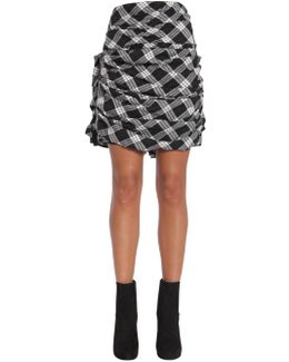 Cotton Flannel Tartan Skirt