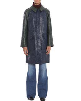 Mila Coated Cotton Coat
