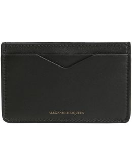 Mutton Leather Card Holder With Logo