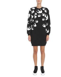 Swallow Signature Cotton Sweatshirt Dress