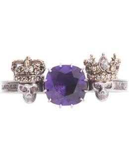 Anello King&queen In Ottone