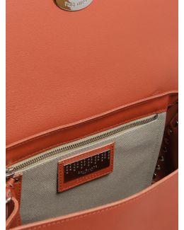 Small Postina Original Silk Brushed Leather Bag