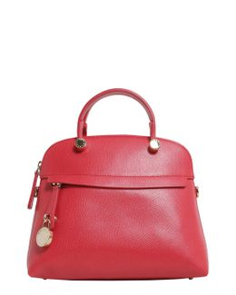Bauletto Small Piper In Pellepiper Small Leather Bag