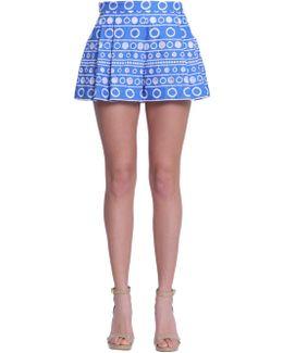 Sangallo Lace Shorts With Darts