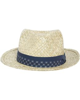 Bovens Straw Hat With Band