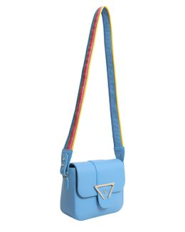 Lucy Textured Leather Crossbody Bag