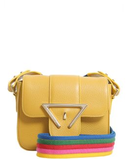 Mini Lucy Textured Leather Crossbody Bag