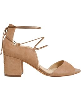 Serene Cut Out Sandals With Open Toe