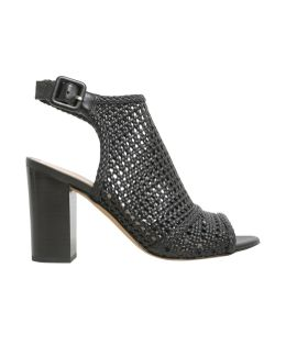 Evie Cut Out Leather Ankle Boots