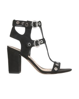 Eyda Studded Suede Sandals