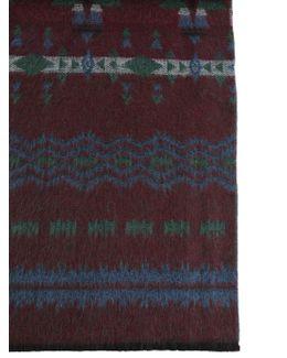 Print Wool Scarf