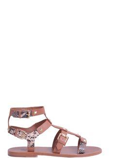 Morocco Leather Sandal