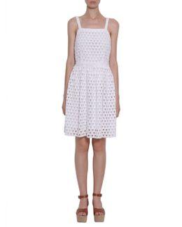 Fitted Crochet Dress
