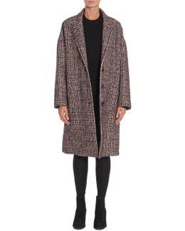 Oversize Bouclè Wool Coat