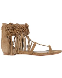Ophely Suede Sandal