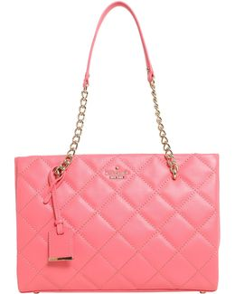 Small Quilted Leather Phoebe Tote