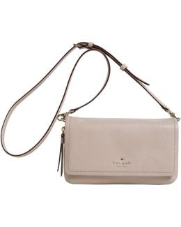Cooble Hill Taryn Textured Leather Messenger