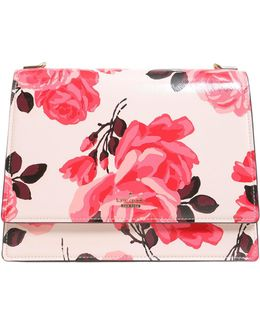 Sophie Cameron Street Roses Patent Leather Bag