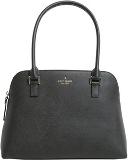 Small Greene Street Mariella Leather Bowling Bag