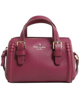 Charlie Boston Textured Leather Bag