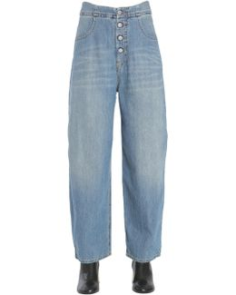 Jeans Vintage A Vita Alta