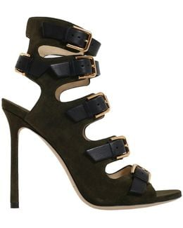 Trick Leather Sandal With Buckle