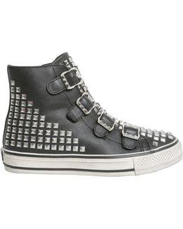 Sneaker Alta Virtu In Pelle