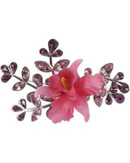 Secret Garden Brooch With Crystals
