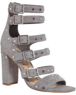 York Studded Suede Sandal