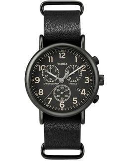 Weekender Chronograph Watch