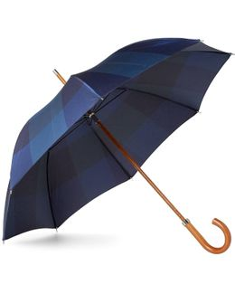 City Oc Midnight Check Umbrella