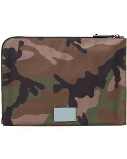 Classic Camouflage Document Case