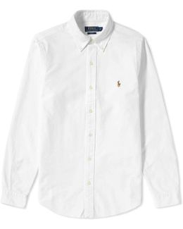 Slim Fit Button Down Oxford Shirt
