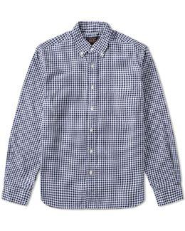 Button Down Gingham Shirt