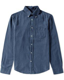 Melange Twill Shirt