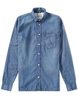 Nudie Henry Denim Shirt