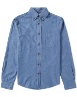 Indigo Twill Shirt