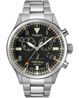 Heritage Waterbury Chronograph Bracelet Watch