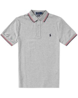 Tipped Tricolor Polo